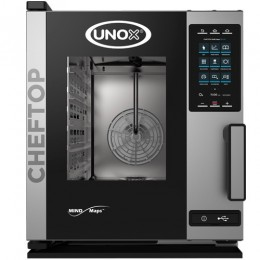 Električna parno konvekcijska pečica UNOX XECC-0513-EPR plus compact 5 GN 1/1